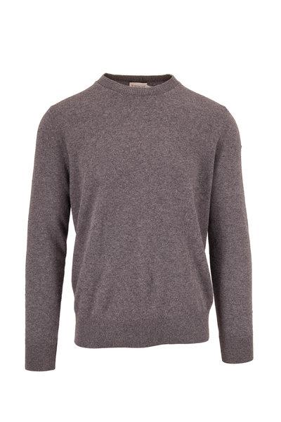 Moncler - Gray Wool Crewneck Sweater