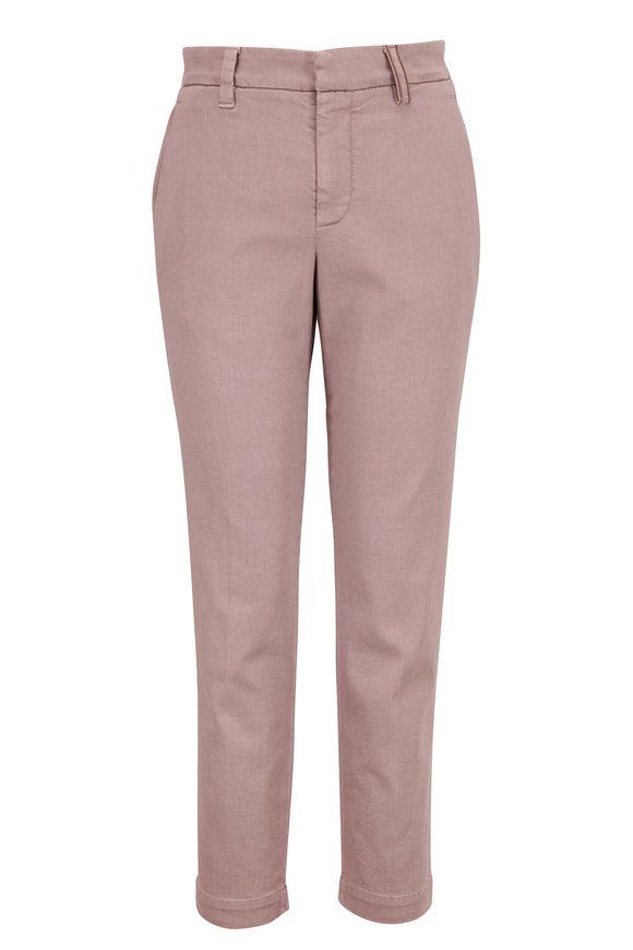 Brunello Cucinelli Purple Garment Dyed Skinny Jean