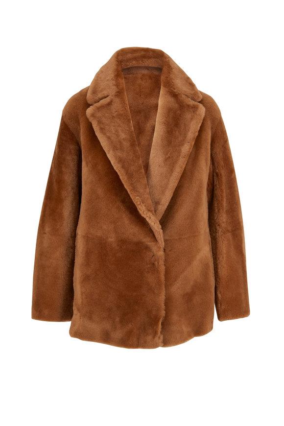 Vince Hazel Shearling Blazer Coat