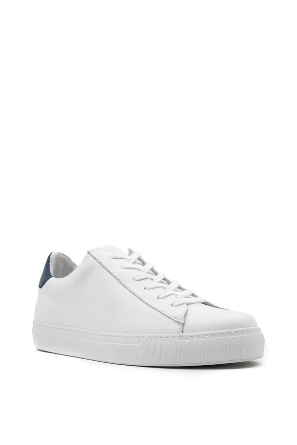 G Brown Court White Leather Sneaker