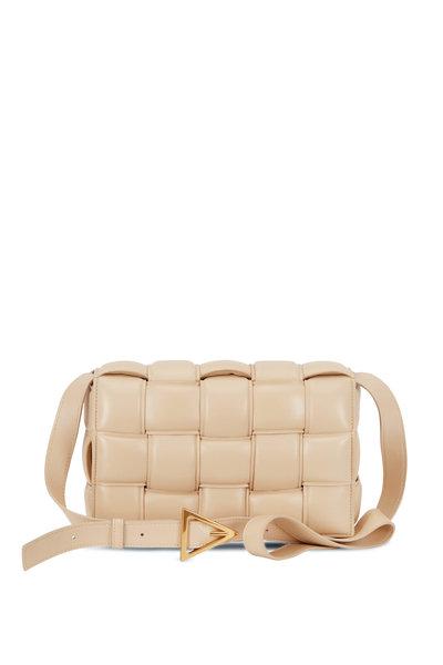 Bottega Veneta - Cassette Porridge Padded Woven Leather Bag