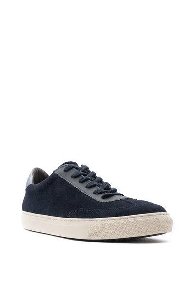 G Brown - Flight Navy Suede Sneaker