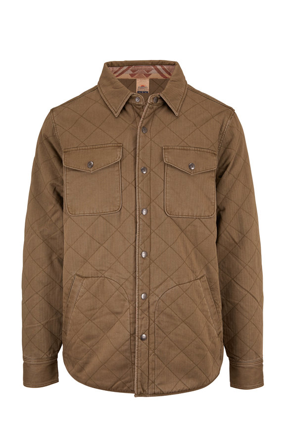 Faherty Brand Dunes Reversible Quilted Jacket