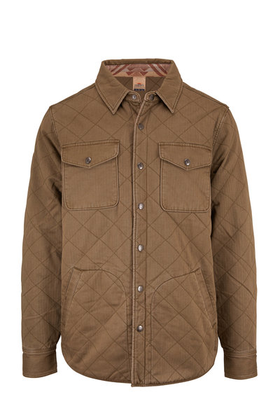 Faherty Brand - Dunes Reversible Quilted Jacket