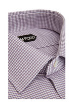 Tom Ford - Lilac Oxford Textured Dress Shirt