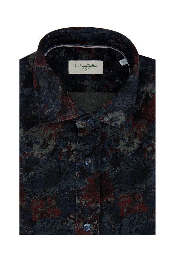 Tintoria Multi Floral Sport Shirt