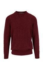 Corneliani - Boudreaux Cashmere Cable Knit Pullover