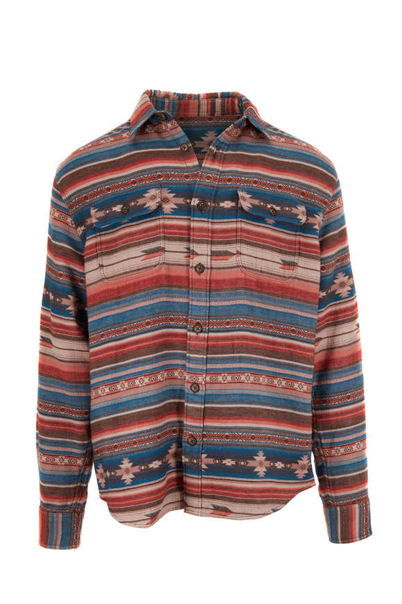 Faherty Brand Canyon Mesa Skyline Overshirt