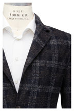 Fradi - Postage Gray Windowpane Jacket