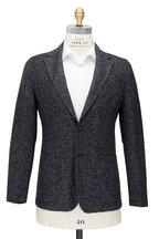 Fradi - Postage Gray Mélange Knit Sportcoat