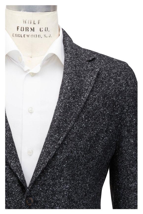Fradi Postage Gray Mélange Knit Sportcoat