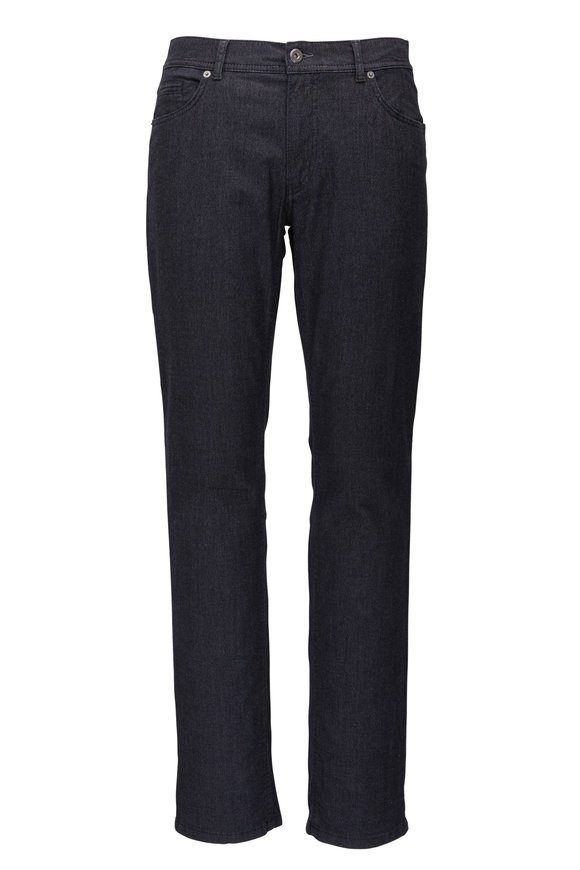 Brax Cooper Fancy Heather Black Modern Fit Pant