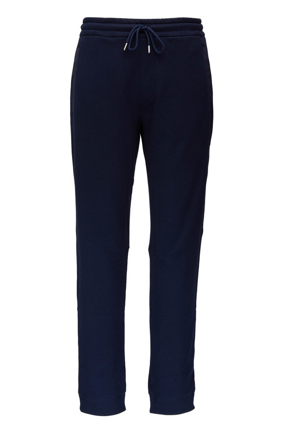 WAHTS Tyler Navy Half Cuffed Sweatpant