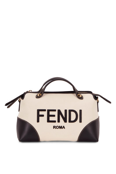 Fendi - By The Way Leather & Canvas Satchel