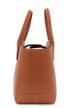 Tod's - Manici Brown Leather Medium Tote Handbag