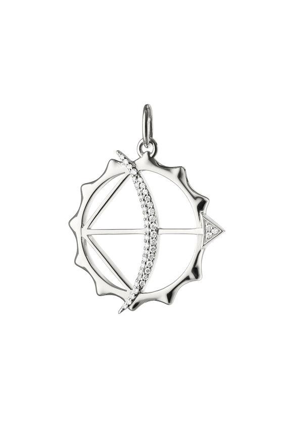 Monica Rich Kosann Sterling Silver Apollo Charm