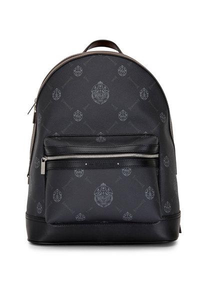 Berluti - Explorer Signature Canvas & Leather Backpack