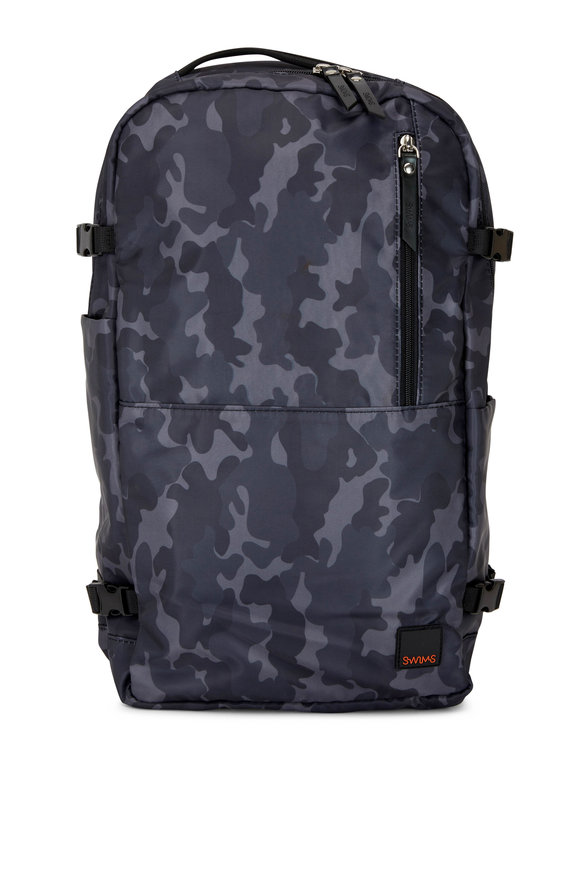 Swims Motion Night Camo Nylon Backpack