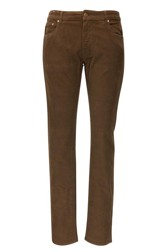 PT Torino Jazz Walnut Corduroy Five Pocket Pant