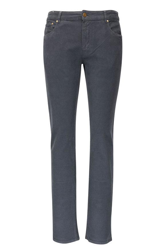 PT Torino Jazz Gray Corduroy Five Pocket Pant