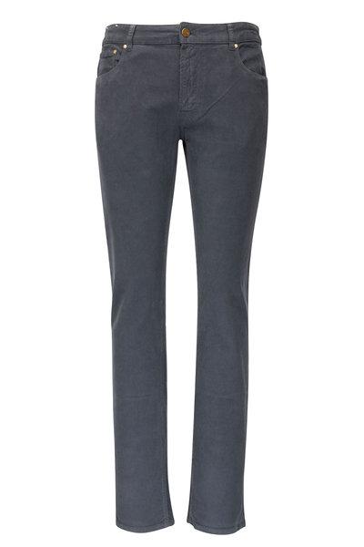 PT Torino - Jazz Gray Corduroy Five Pocket Pant