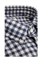 GMF - Blue Gingham Sport Shirt