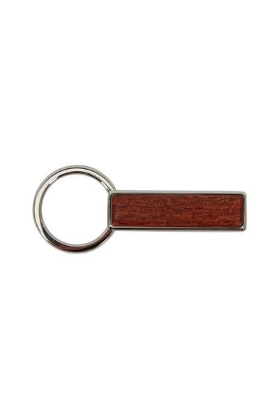 M-Clip - Cocobolo Dark Brown Wood Keychain