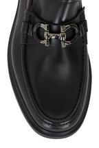 Salvatore Ferragamo - Ready Black Leather Loafer
