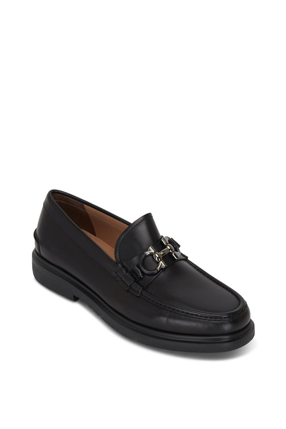 Salvatore Ferragamo Ready Black Leather Loafer