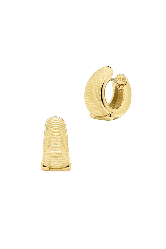 Paul Morelli 18K Yellow Gold Hoop Earrings