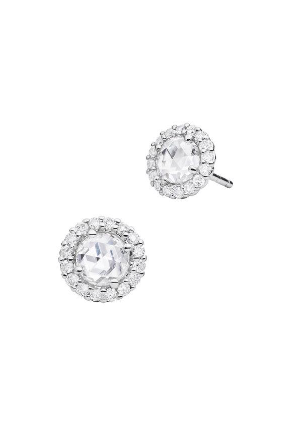 Paul Morelli 18K White Gold Diamond Studs
