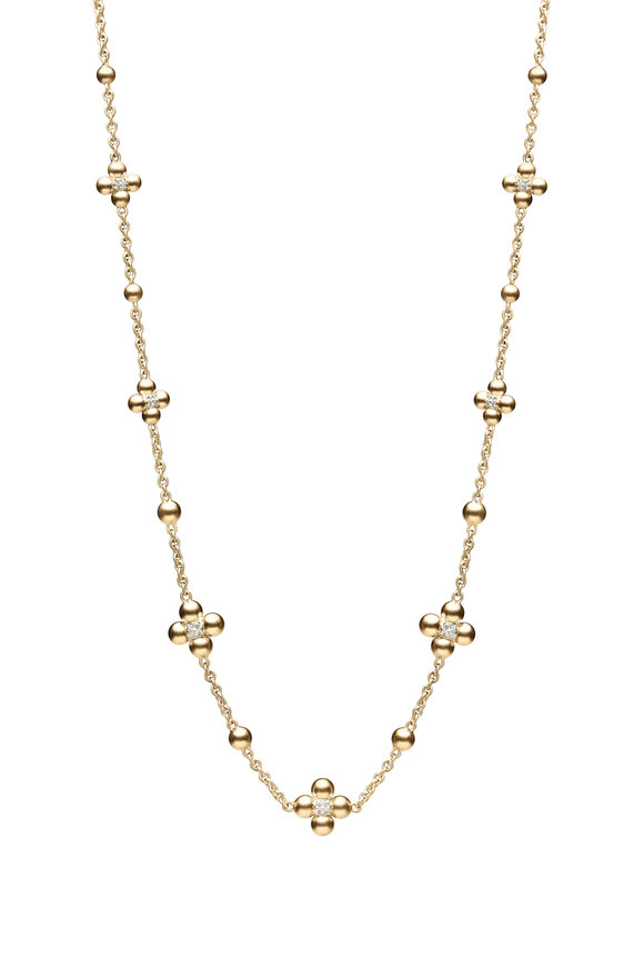 Paul Morelli 18K Yellow Gold Sequence Necklace, 18""