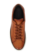 G Brown - Os Tan Leather Sneaker