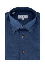 Eton - Light Chambray Contemporary Fit Dress Shirt
