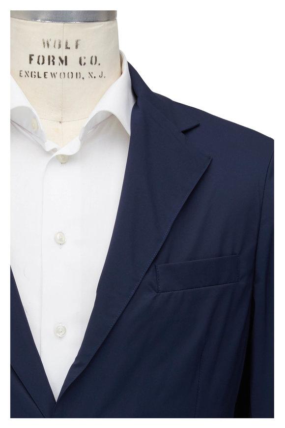 04651/ Breeze Packable Navy Blue Blazer