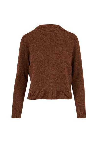 Nili Lotan - Sirena Cocoa Wool Sweater