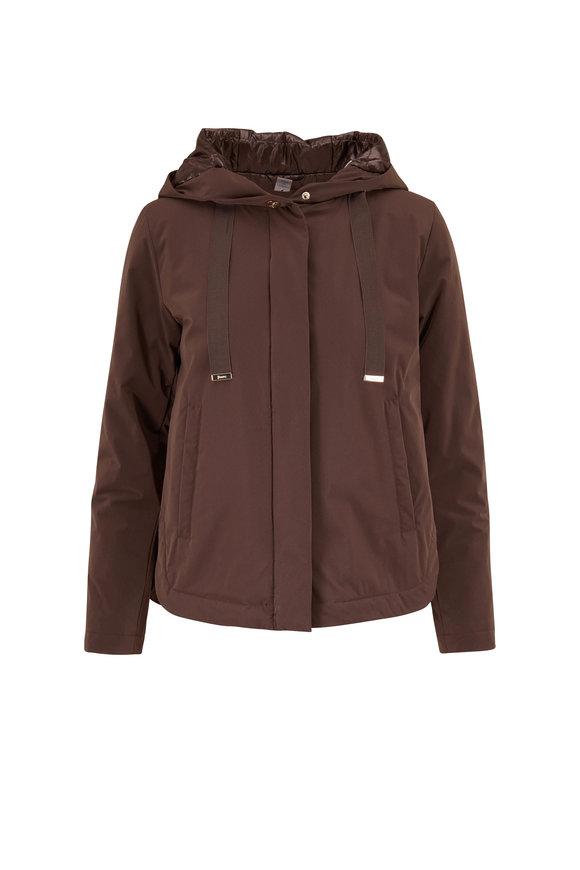 Herno Clay Short Rain Coat