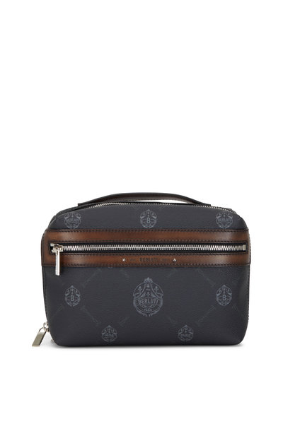 Berluti - Viree Signature Canvas & Leather Dopp Kit