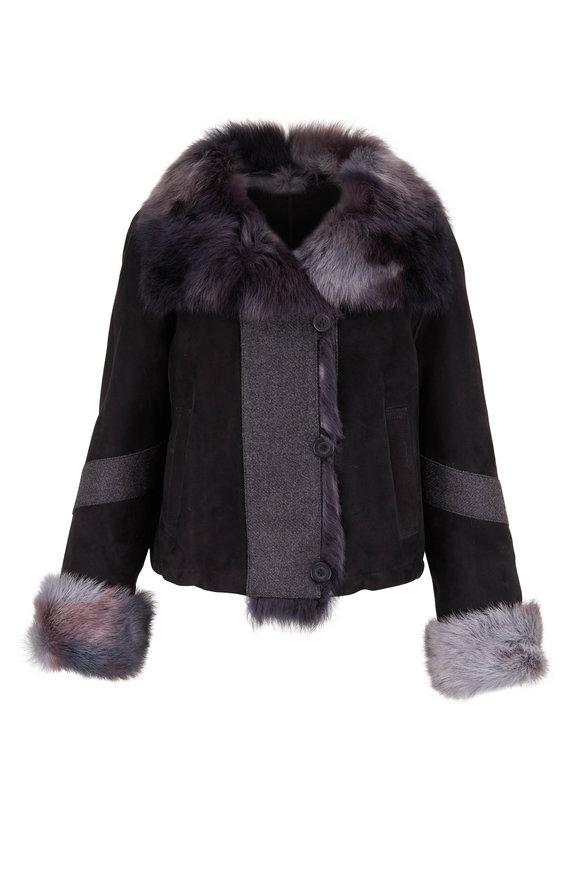 Viktoria Stass Black Brisa Short Toscano Jacket