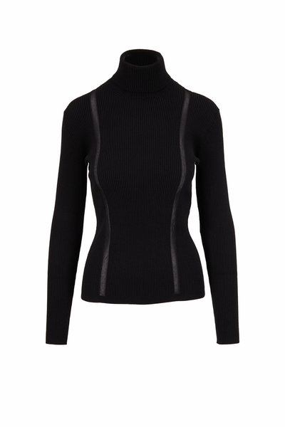 Tom Ford - Black Stretch Cashmere Turtleneck Sweater