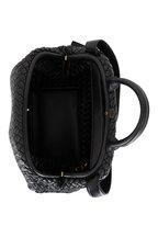 Bottega Veneta - The Handle Black Intrecciato Leather Large Bag