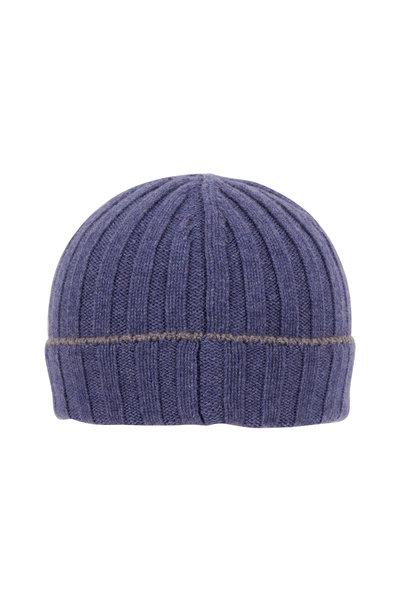 Brunello Cucinelli - Dark Blue Cashmere Hat