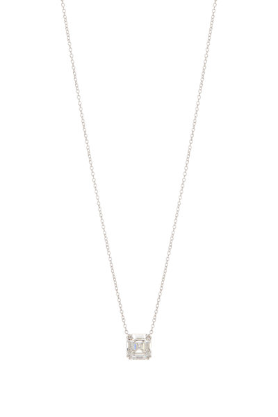Lowy & Co - White Gold Diamond Pendant Necklace