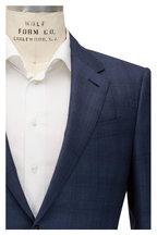 Ermenegildo Zegna - Tonal Blue Plaid Trofeo Wool Suit