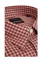 Ermenegildo Zegna - Rust Check Tailored Fit Sport Shirt