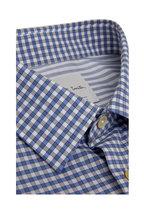 Paul Smith - Blue & Gray Gingham Dress Shirt
