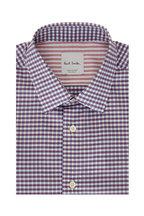 Paul Smith - Purple & Blue Gingham Dress Shirt