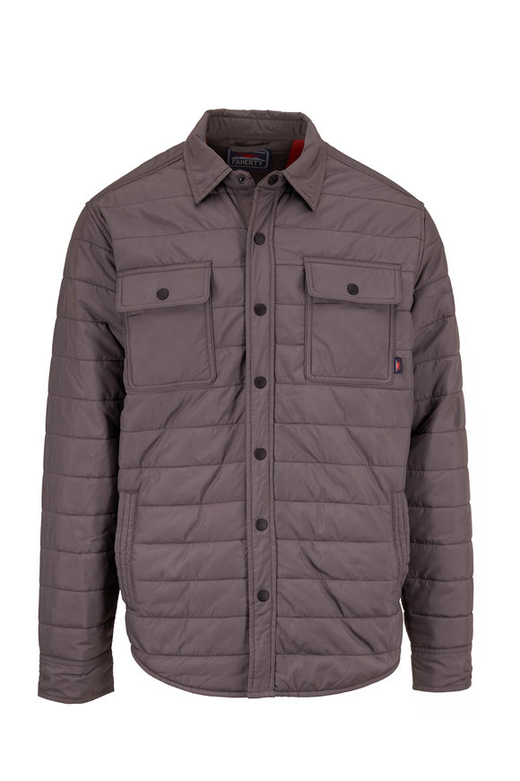 Faherty Brand Atmosphere Ash Packable Jacket