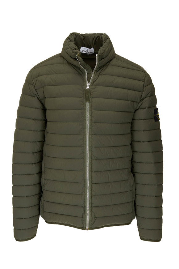 Stone Island Musk Quilted Down Puffer Coat