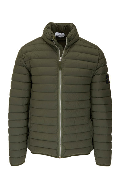 Stone Island - Musk Quilted Down Puffer Coat